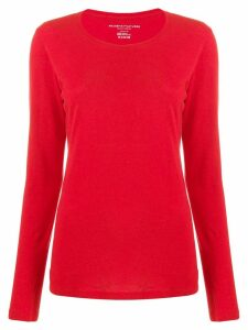 Majestic Filatures fine knit jumper - Red