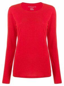 Majestic Filatures fine knit jumper - Red