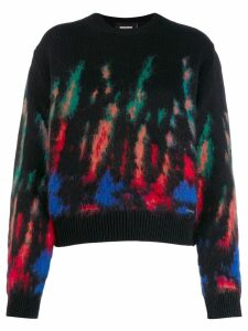 Dsquared2 patterned jumper - Black