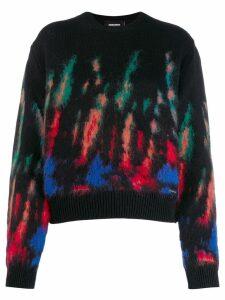Dsquared2 patterned jumper - Black