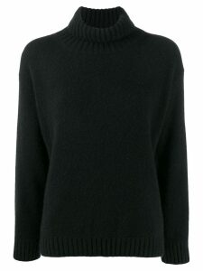 Laneus turtle neck jumper - Black