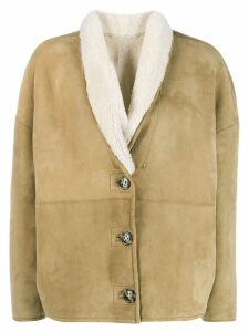 Isabel Marant Étoile Carter coat - NEUTRALS