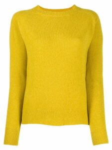 Aspesi raglan jumper - Yellow