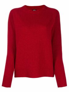 Aspesi relaxed-fit crew neck jumper - Red