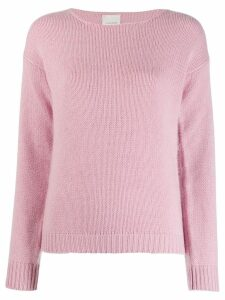 Fine Edge crew neck sweater - PINK