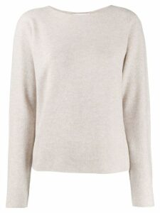 Fabiana Filippi fine knit sweater - NEUTRALS