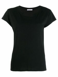Fine Edge round neck T-shirt - Black
