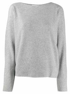 Fabiana Filippi fine knit sweater - Grey