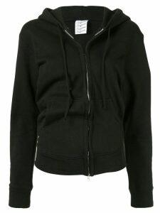 Vaquera zipped hoodie - Black