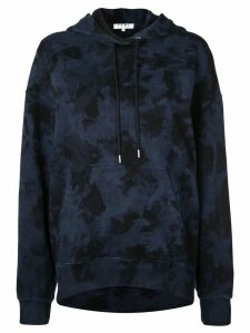 Proenza Schouler PSWL Ink Blotch Hooded Sweatshirt - Blue