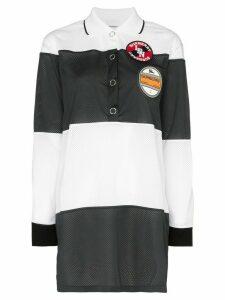 Burberry Airtex mesh polo shirt - White