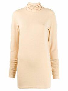 Lemaire roll neck sweatshirt - Neutrals