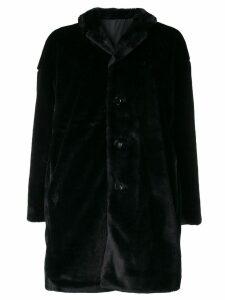 Aspesi reversible midi coat - Black