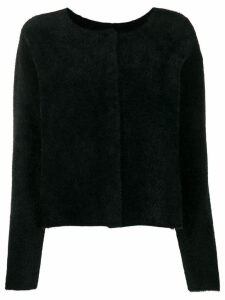Twin-Set textured cardigan - Black