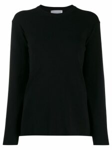 be blumarine box-fit sweatshirt - Black