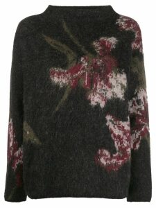 Vince floral pattern jumper - Brown