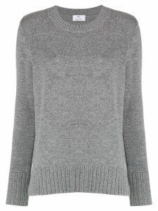 Allude crew neck jumper - Grey