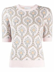 be blumarine embroidered jumper - Pink