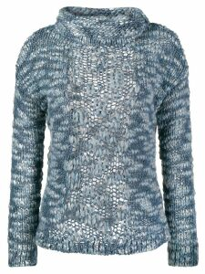 Snobby Sheep chunky knit jumper - Blue