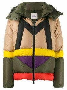 Moncler Maritsa M logo puffer jacket - Green