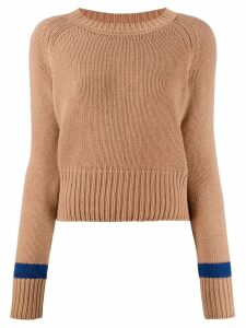 Aragona crew-neck cashmere sweater - NEUTRALS