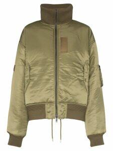 AMBUSH reversible padded bomber jacket - Green