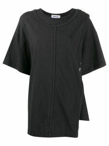 Ambush deconstruct short sleeve T-shirt - Black