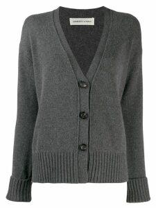 Lamberto Losani v-neck cardigan - Grey