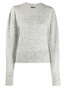 Isabel Marant Colroy cashmere jumper - Neutrals