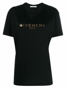 Givenchy logo printed T-shirt - Black