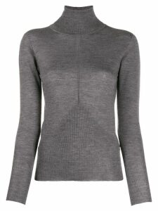 Lorena Antoniazzi turtle neck sweater - Grey