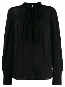 Twin-Set collared blouse - Black
