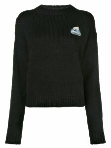 Alanui embroidered knitted jumper - Black