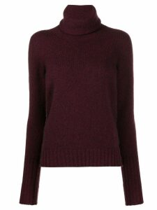 Roberto Collina roll-neck jumper - PURPLE