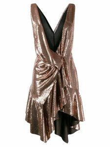 Philosophy Di Lorenzo Serafini sleeveless asymmetric dress - GOLD
