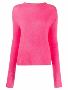 MRZ long sleeve knit jumper - PINK