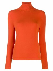 Luisa Cerano turtleneck sweater - ORANGE