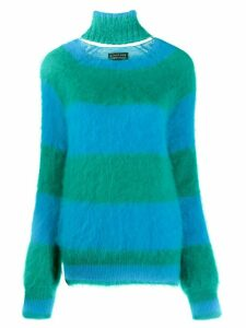 Gianluca Capannolo striped knitted jumper - Blue