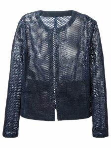 Drome perforated jacket - Blue