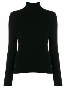 Allude cashmere roll-neck jumper - Black