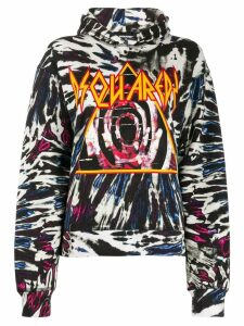 Dsquared2 graphic logo hoody - Black
