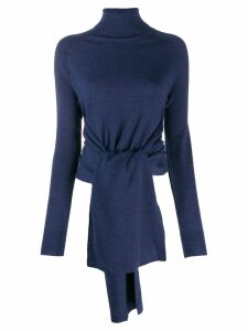 JW Anderson roll neck knitted top - Blue