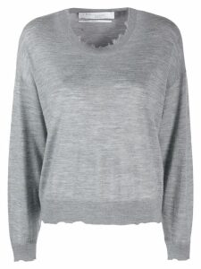 IRO distressed knit jumper - Grey