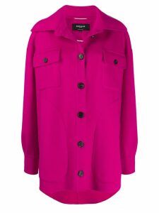 Rochas button up shirt jacket - PINK