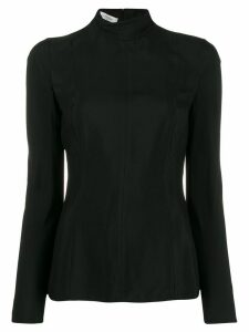 Valentino turtleneck fitted blouse - Black