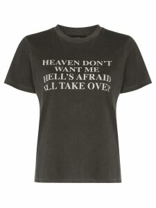 AMIRI Heaven and Hell cotton T-shirt - Black