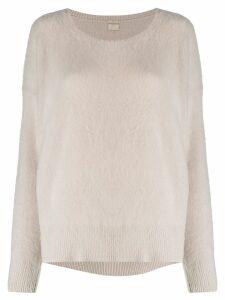 Massimo Alba oversized cashmere jumper - NEUTRALS