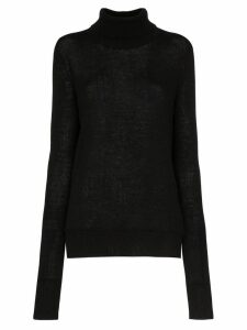 Amiri roll-neck cashmere sweater - Black
