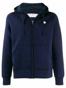 Société Anonyme hooded bomber jacket - Blue