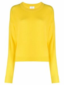 Allude crew-neck jumper - Yellow